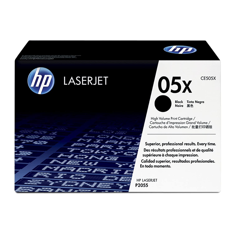 Hewlett Packard [HP] No. 05X Laser Toner Cartridge Page Life 13000pp Black Ref CE505XD [Pack of 2] B003ICX6TE