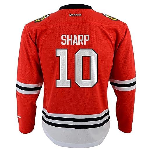 pretty nice 5a9ee 0ec80 chicago blackhawks patrick sharp 10 red replica jersey sale