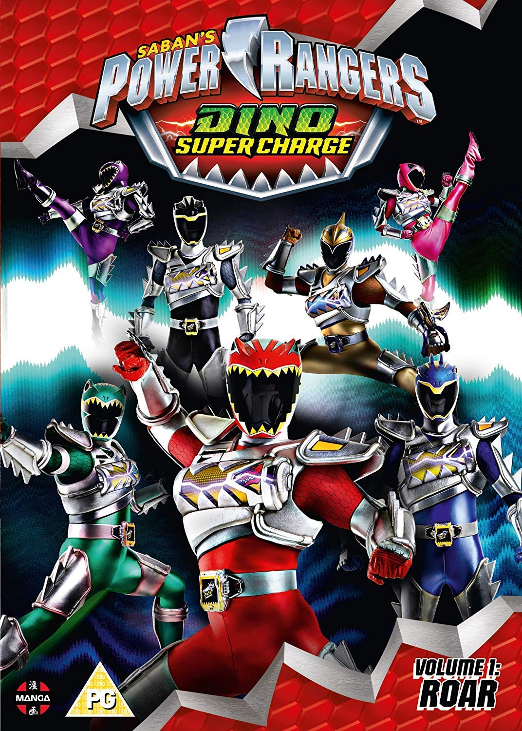 - Amazon.com: Power Rangers: Dino Super Charge Vol 1 - Roar