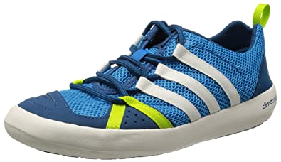 4d6545a6329 adidas Mens Climacool Boat Lace Outdoor Fitness Shoes Blue Blau (Solar  Blue2 S14   Chalk