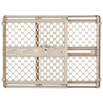 Charmant Supergate Ergo Pressure Or Hardware Mount Plastic Gate, Sand, Fits Spaces  Between 26u0026quot;