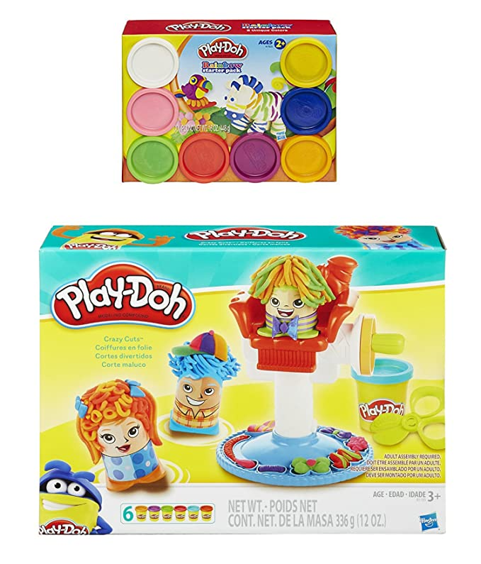 Amazon Play Doh Crazy Cuts Playset Creative Hairstyles And