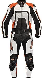 40 XLS Lederkombi Tribal Lady//Damen Leather suit schwarz wei/ß