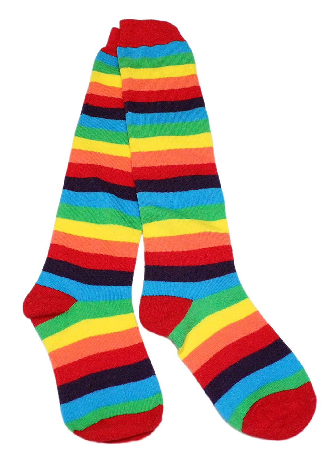 Baby Red Pink Rainbow Stripe Leg Warmers Age 3 months upto 8 years old