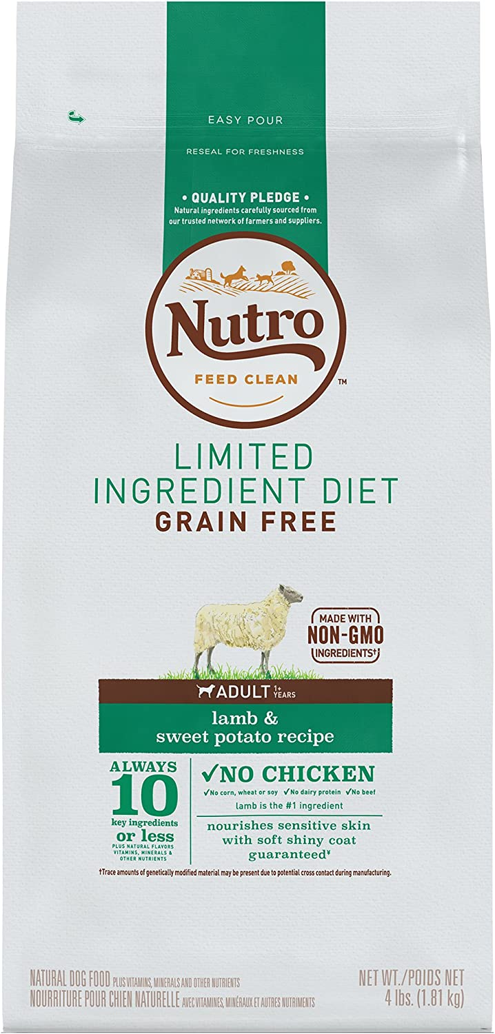 NUTRO Limited Ingredient Diet Adult Grain Free Dry Dog Food