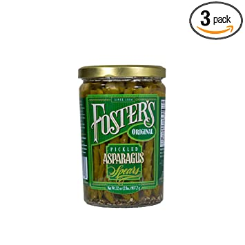 Amazon.com : Foster\'s Pickled Products Asparagus Original, 32 oz ...