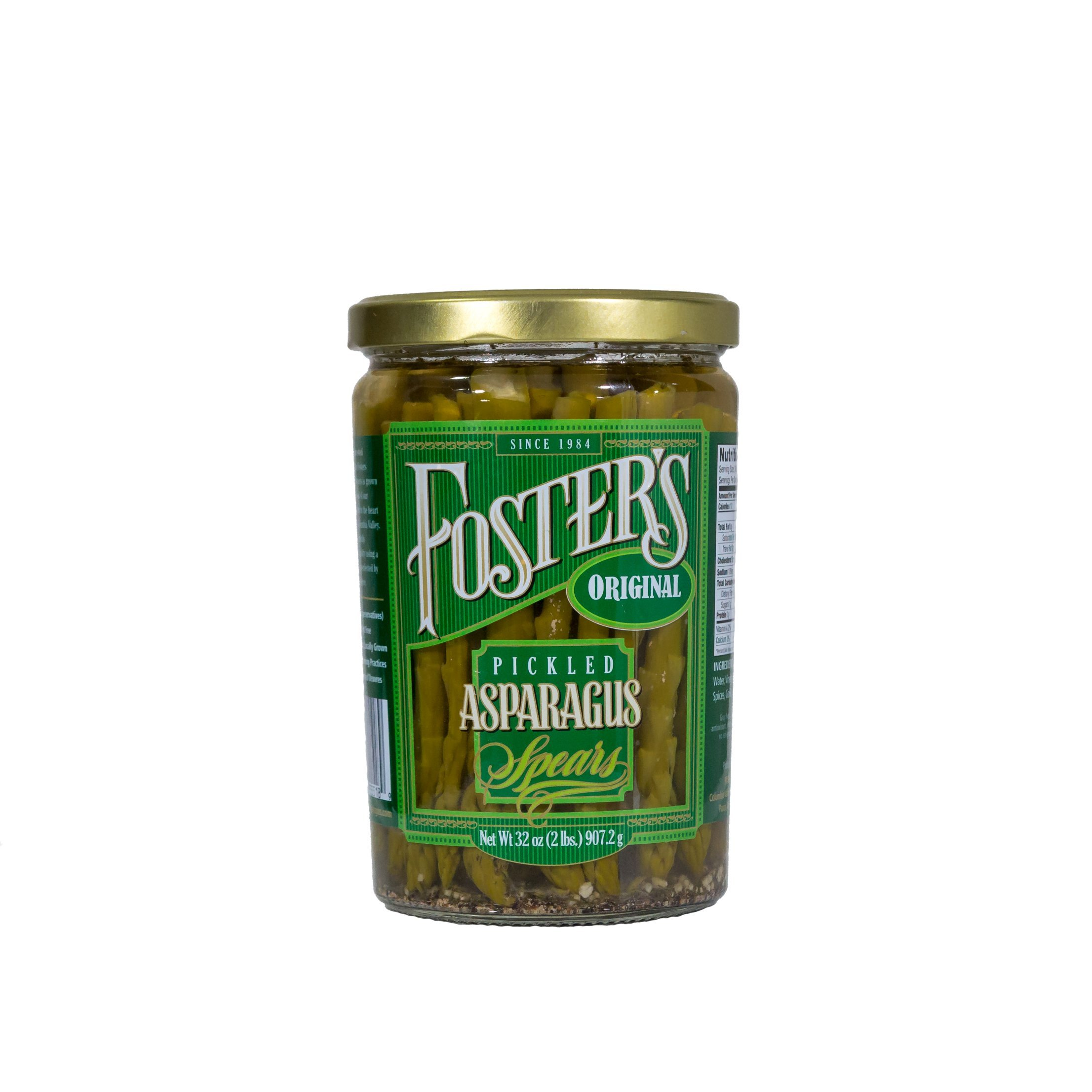 Foster's Pickled Products Asparagus Original, 32 oz.  (Pack of 3) by Foster's Pickled Products