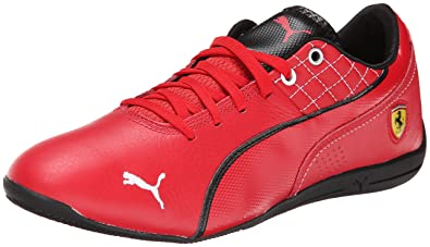 PUMA Men's Drift Cat 6 SF Flash Motorsport Shoe, Rosso Corsa/White, 7.5