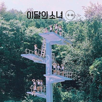 Blockberry Creative Monthly Girl LOONA - + + [Normal B ver ] (Debut Mini  Album) CD+Photobook+Photocard+Folded Poster