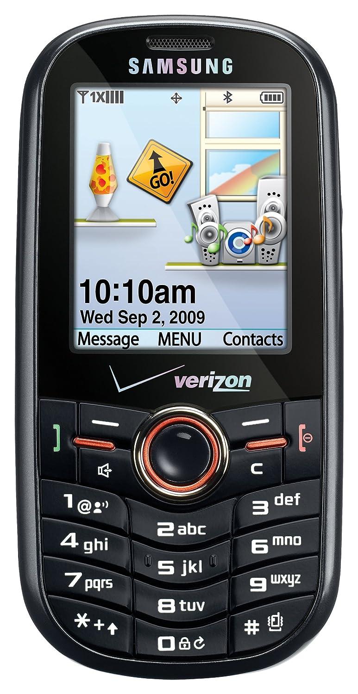 Amazon com: Samsung Intensity SCH-U450 Phone, Black (Verizon