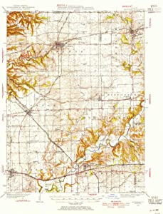 YellowMaps Mackinaw IL topo map, 1:62500 Scale, 15 X 15 Minute, Historical, 1928, Updated 1954, 20.8 x 16.9 in