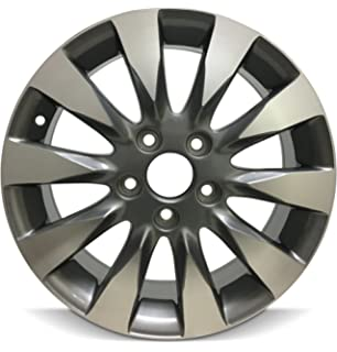 Amazon brand new 16 x 65 replacement wheel for honda civic honda civic 16 inch 5 lug 10 spoke alloy rim16x65 5 publicscrutiny Images