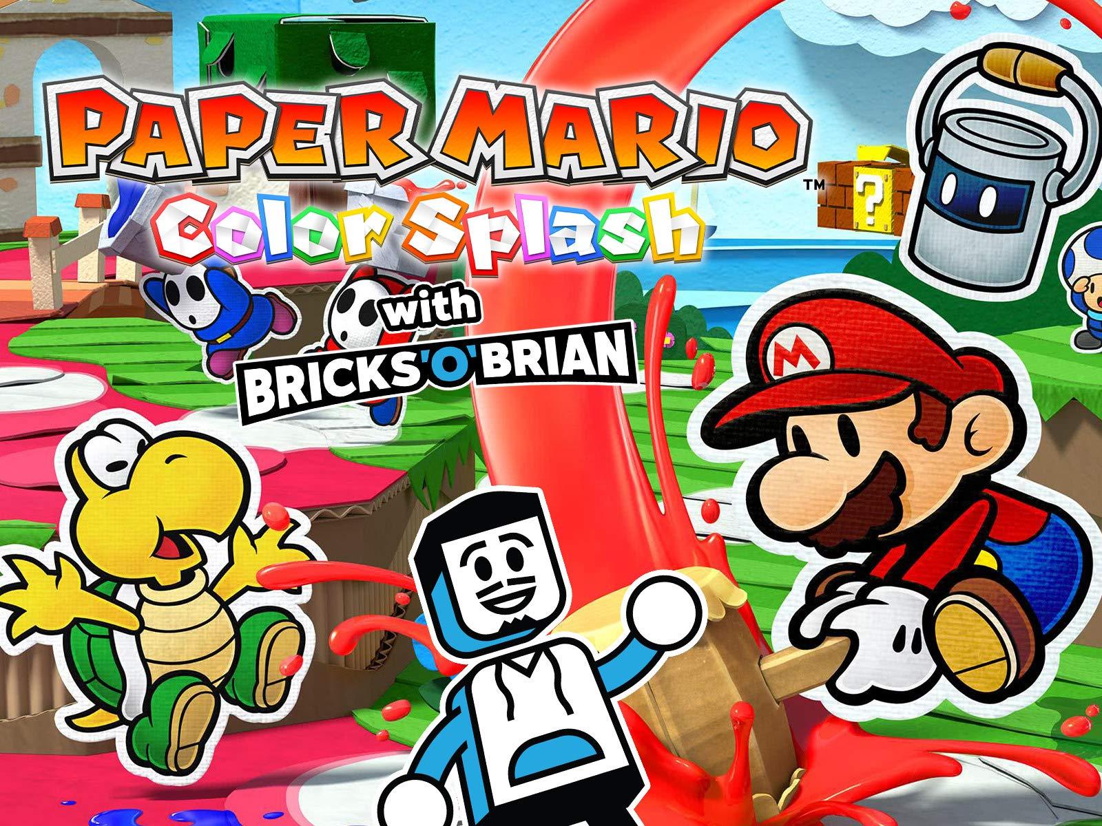 Clip: Paper Mario Color Splash with Bricks 'O' Brian! - Season 1