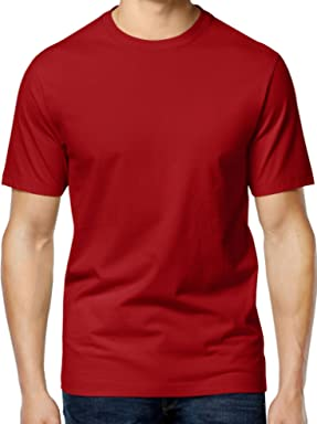Club Room Mens Short Sleeve Scoop Neck T-Shirt