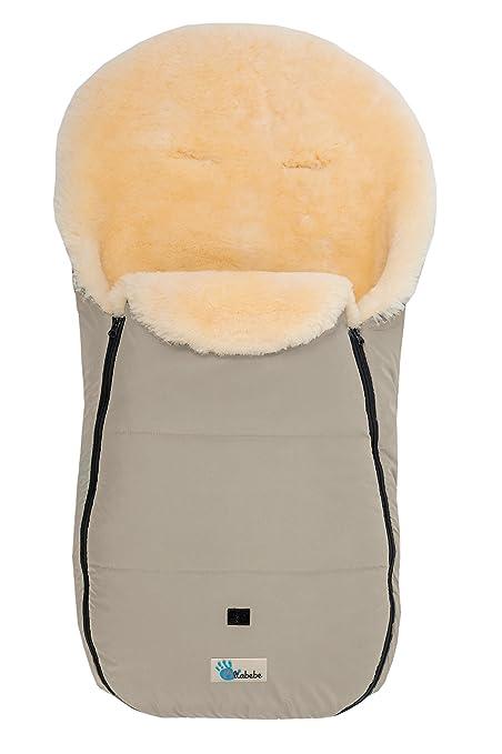 Altabebe - Saco de borreguito de invierno para carrito de bebé de la colección Nordkap beige
