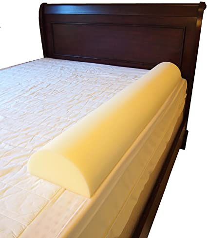 Pillowflex Stay Put Big Girl And Boy Bed Semicircle Rail Bumper Pad For Toddler