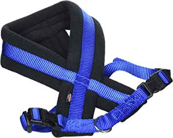 Trixie 203902 Arnés Confort New Premium, 45-70 cm / 25 mm, Azul, M