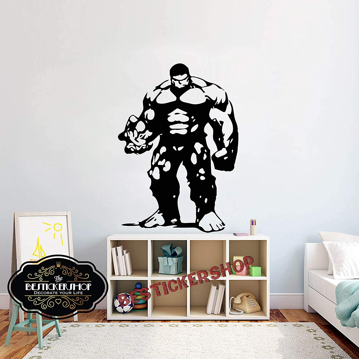 Superhero Girls  VINYL WALL STICKER WALL DECALS