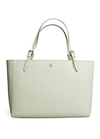 a516cb4902c Amazon.com  Tory Burch York Buckle Tote in New Ivory White  Clothing