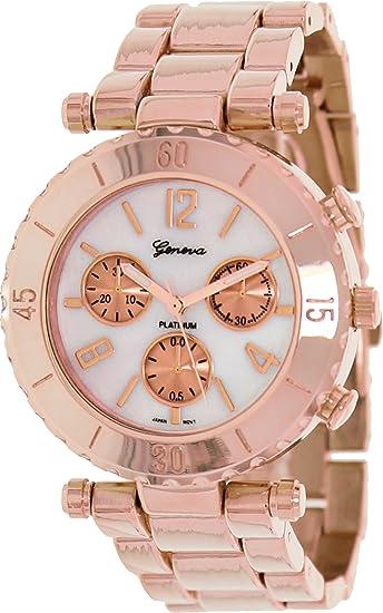 Geneva Platinum 9271.RoseGold.RoseGold Mujeres Relojes