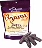Winchester Gardens 50 Count Organic Berry Fertilizer Spikes