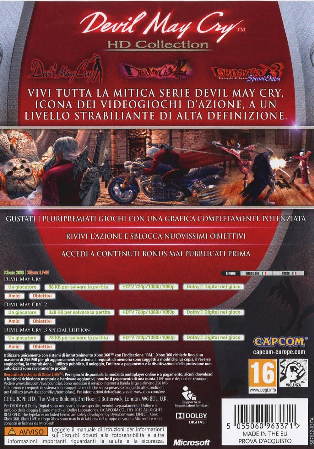 Digital Bros Devil May Cry HD Collection - Juego: Amazon.es: Videojuegos