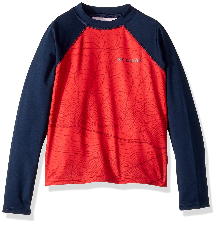 Columbia Kids' Mini Breaker Printed Long Sleeve Sunguard 1723501