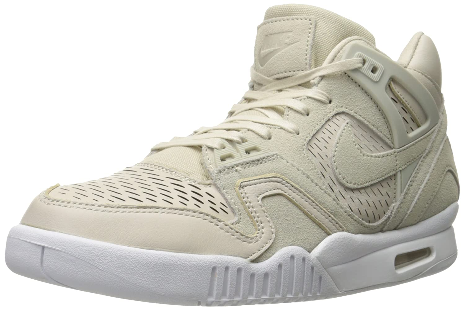 NIKE Men's Air Tech Challenge II Laser Tennis Shoe Birch/Birch/White
