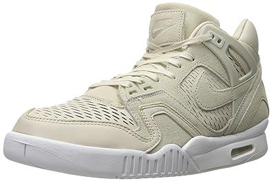 size 40 139f6 de43e Nike Air Tech Challenge II Laser, Chaussures de Sport Homme, Blanc  Cassé-Blanco
