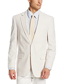 Palm Beach Men S Brock Seersucker Suit Separate Jacket At Amazon