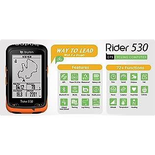 Bryton Rider 530 GPS Cycling Computer