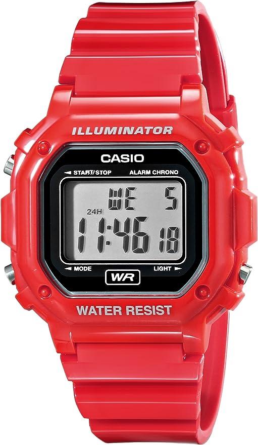 CASIO カシオ F-108WHC-4A レッドベーシックデザイン メンズ腕時計男性用腕時計 デジタル 時計 海外モデル 【逆輸入品】