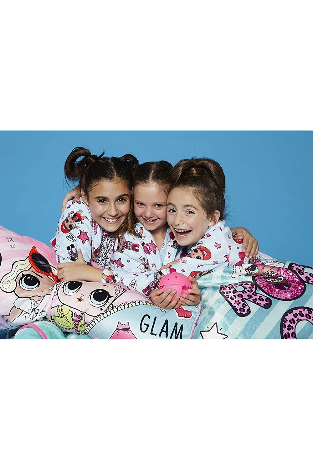 LOL Surprise Excited Yet Glam Girl Pajama Robe