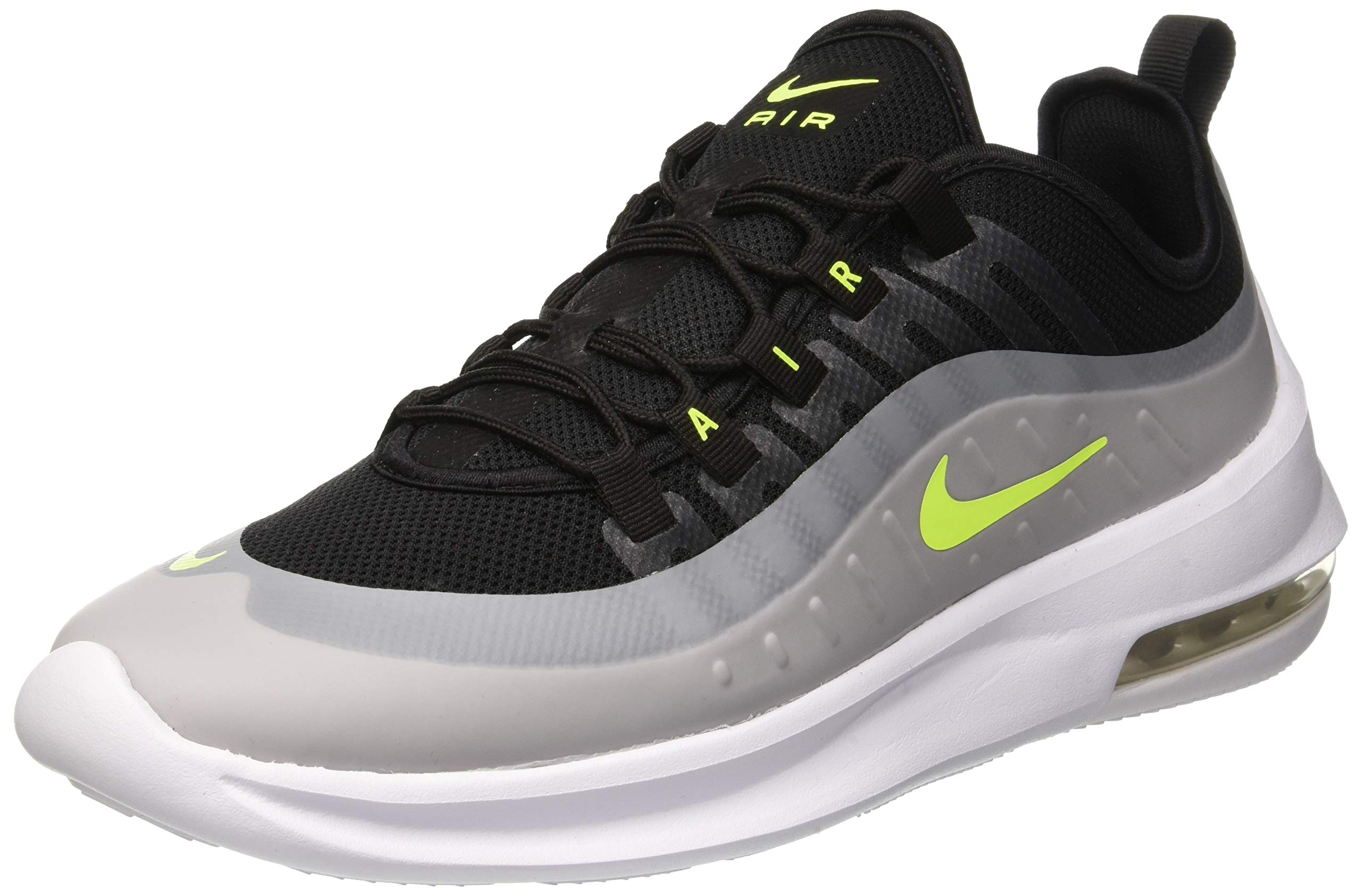 389e06d2b9 Galleon - Nike Men's Air Max Axis Running Shoe, Black/Volt-Wolf  Grey-Anthracite, 8.5