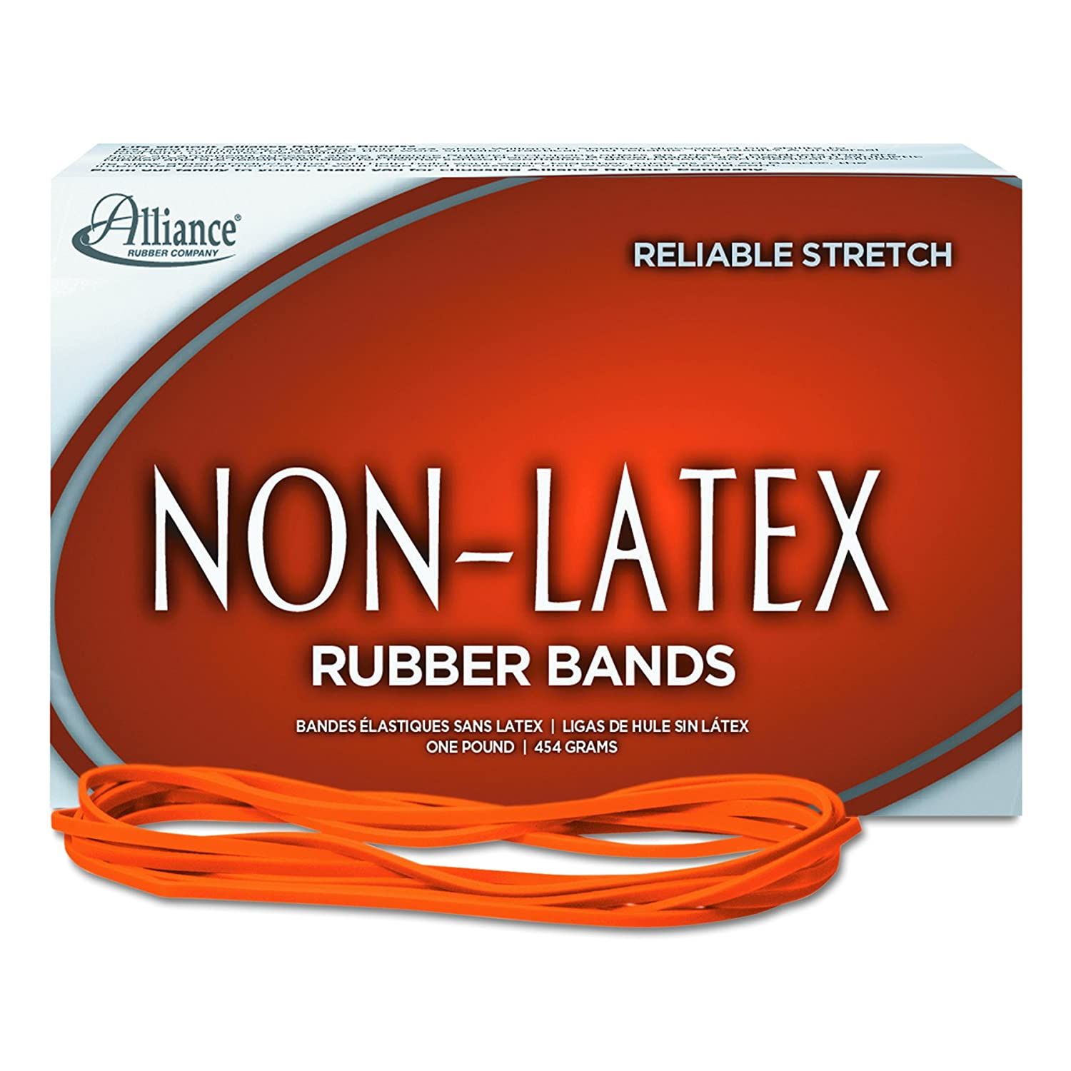 Amazon Alliance Rubber 117B Non Latex Rubber Bands 1 lb