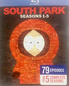 South Park: Seasons 1 - 5 Collector's Edition Box Set