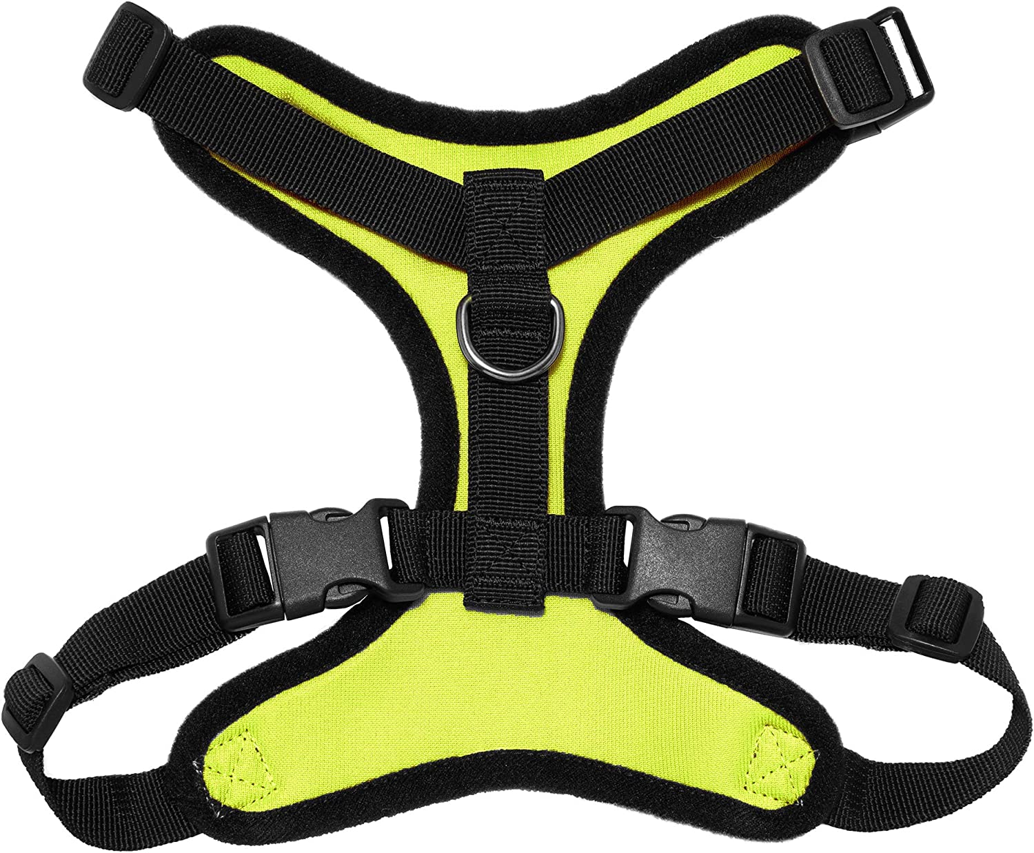 XS Lime Green Base Chest: 11-16 * Fit Cats Adjustable Step in Harness for Cats and Dogs by Best Pet Supplies Voyager Step-in Lock Pet Harness All Weather Mesh