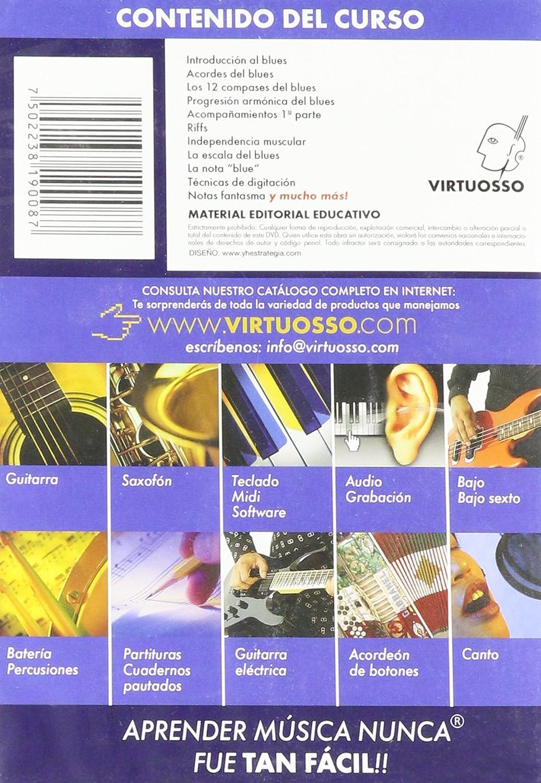 Amazon.com: Virtuosso Blues Piano Method Vol.1 (Curso De Piano Blues Vol.1) SPANISH ONLY: Musical Instruments