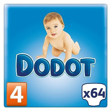 Dodo Pañales Talla 4 (9-14 kg) - 64 pañales