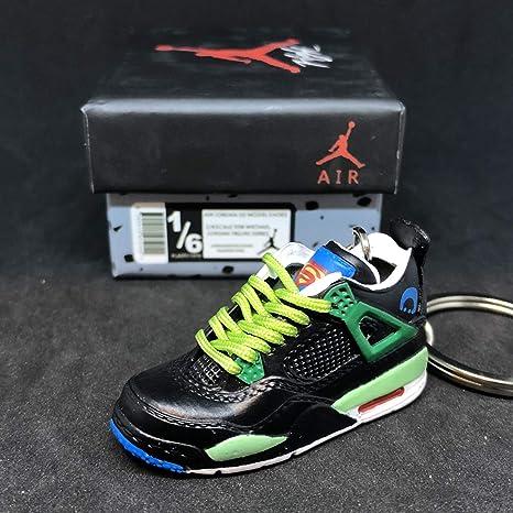 823eb6732ed922 Amazon.com  Air Jordan IV 4 Retro DB Doernbecher Superman OG Sneakers Shoes  3D Keychain 1 6 Figure + Shoe Box  Everything Else