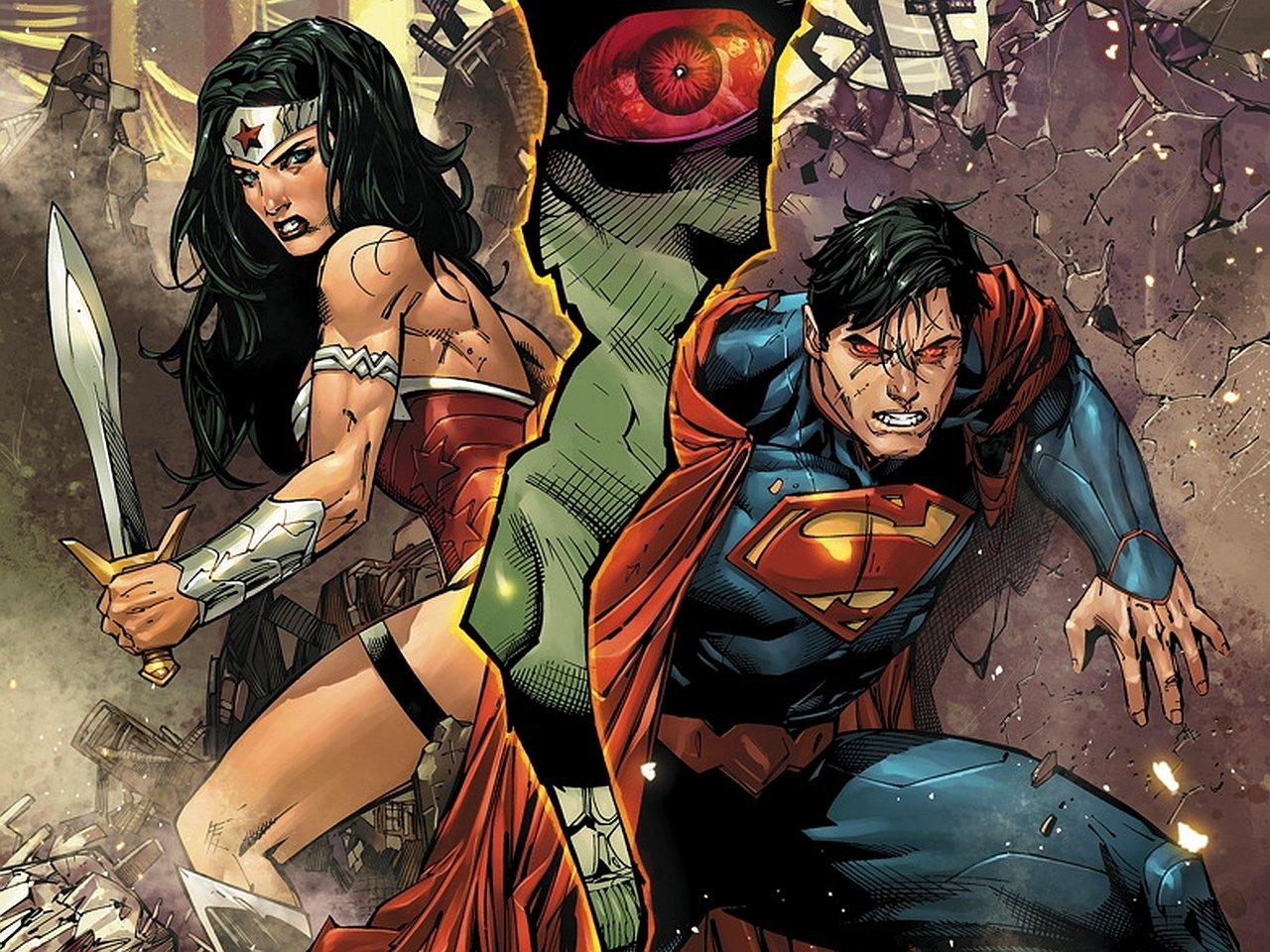 Posterhouzz Comics Justice League Of America Wonder Woman Superman