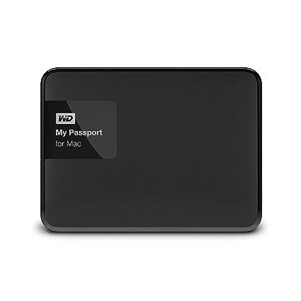 WD My Passport for Mac - Disco Duro Externo portátil de 4 TB (USB 3.0