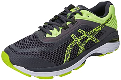 Amazon.com | Asics GT 2000 6 Lite Show Mens Running Shoes - Grey-7.5 ...
