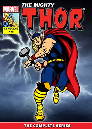 The Mighty Thor DVD - The Complete 1966 Series (Marvel Super Heroes)