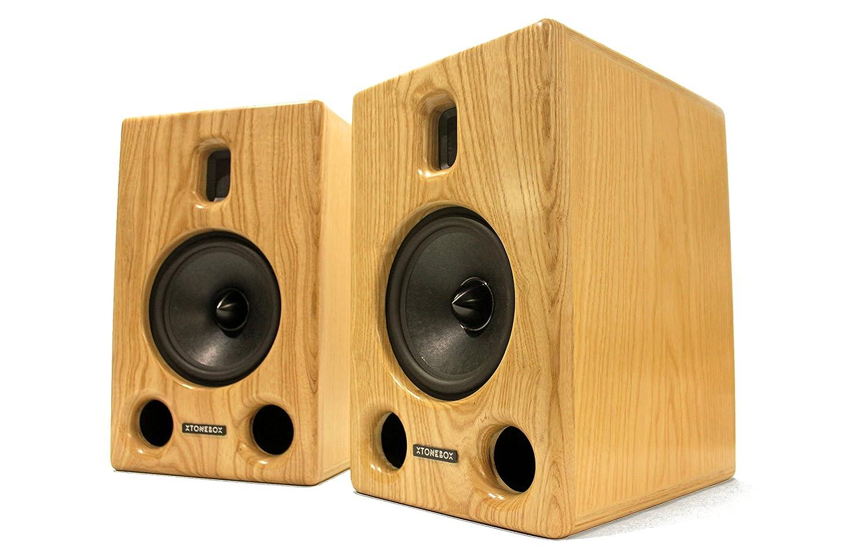 Xtonebox S-7M リファレンススピーカー スタジオ品質 ホームオーディオ用 ブックシェルフ ラウドスピーカー Xtonebox トゥルーリボンツイーター 7インチペーパーウーファー B07BFLDXLJ, 【リップル】ハワイアンジュエリー:9af49600 --- sharoshka.org