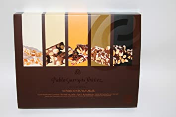 Pablo Garrigós Ibáñez Delicatessen Assorted Turron (10 Portions) 5.95 oz (170 grams)
