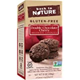 Back to Nature Gluten-Free Double Chocolate Cherry Brownie Cookies, 8 Ounce