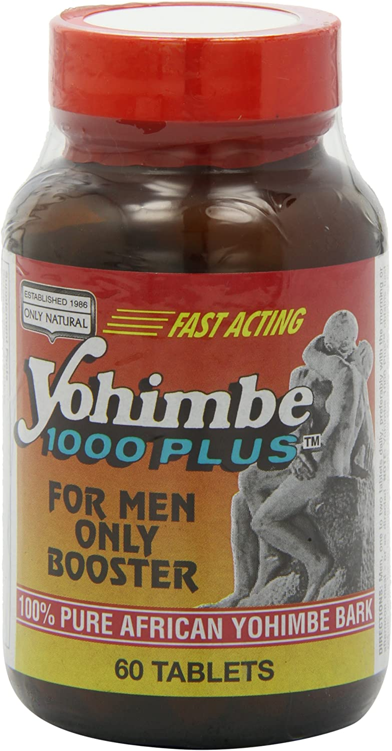 Only Natural Yohimbe 1000 Plus, 60-Count: Health & Personal Care