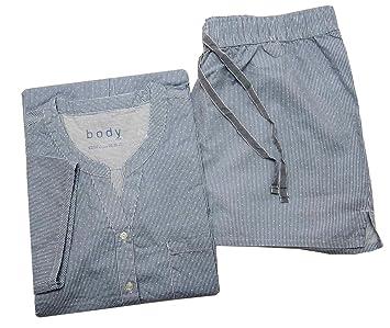 60% Rabatt verschiedene Farben Original kaufen Tchibo TCM Damen Kurz Schlafanzug Shorty Pyjama Biobaumwolle ...