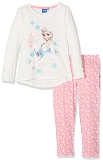 14e077c41 Amazon.com  Disney Girls  Frozen 2-Piece Pajama Set (8 years ...